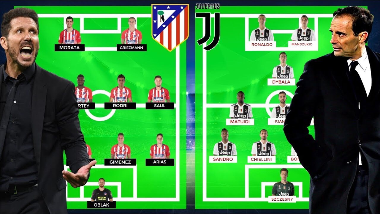 Juventus Vs Atletico Madrid – Preview