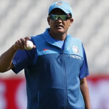Kumble Resigns As Head Coach Of India